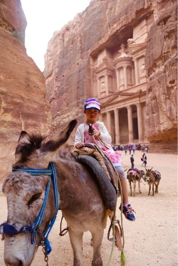 Chadd traveled to Jordan and Egypt with the Xu Family!