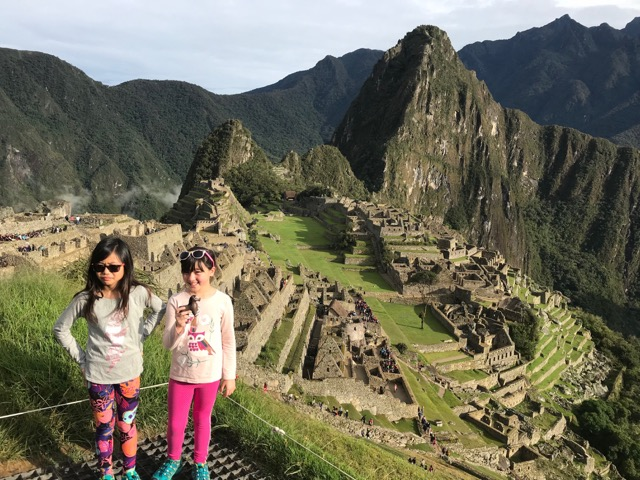 Chadd went to Peru with the Marcotte Family!